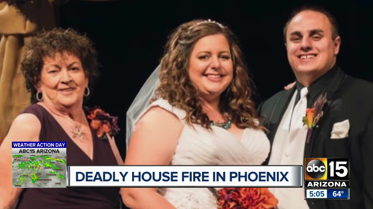 Elderly woman killed in Phoenix house fire