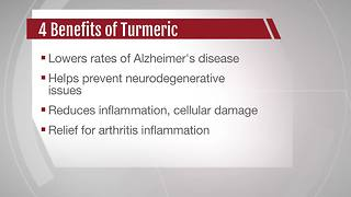 4 health benefits of turmeric tea - Video