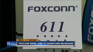 Foxconn closes on North American headquarters - Video