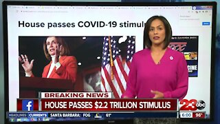 House Passes 2.2 trillion relief bill