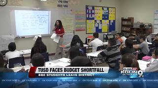 Tucson Unified School District budget cuts affect number of students in district - Video