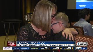 Trauma survivors, doctors gather to celebrate life - Video