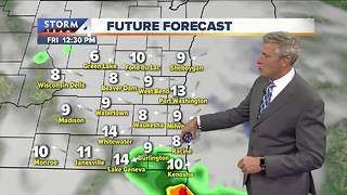 Partly cloudy and seasonal Thursday - Video