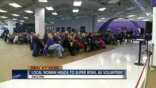 Local Woman Heads to Super Bowl as Volunteer - Video