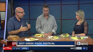 Preparations underway for annual Greek food festival - Video
