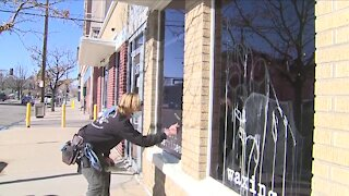 Vandals hit small businesses already struggling with the fallout from COVID-19 restrictions