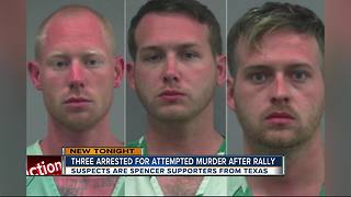 Three arrested after shooting following white nationalist Richard Spencer event at UF - Video