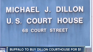 City of Buffalo to buy Dillon Court House for one dollar - Video