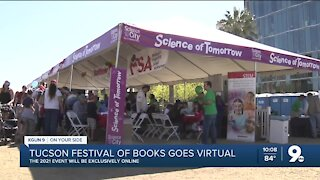 Tucson Festival of Books to go virtual in 2021