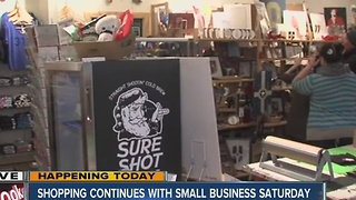 Shop small on Small Business Saturday