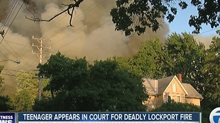 Attorney: Teen accused of starting Lockport fire says he didn't do it - Video