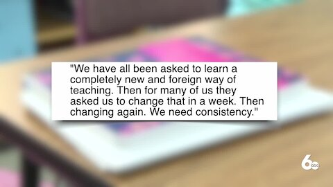 Teachers experience more work, stress with changing education models
