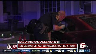Mustang shot up on west side, driver hospitalized - Video