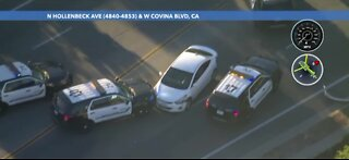 Police chase ends in Southern California