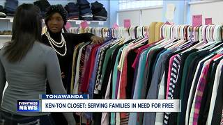 Ken-Ton Closet helps family who relocated from Puerto Rico and many others