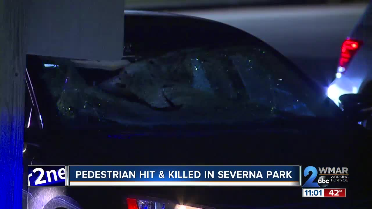 Police: deadly accident involving a pedestrian closes Ritchie Highway in Severna Park