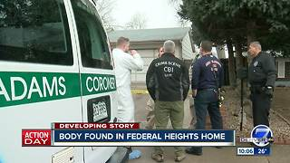 Human remains found in Federal Heights home amid missing person investigation - Video