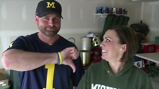Rivalry runs deep for married couple - Video