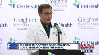 CHI Health doctors give update on COVID response