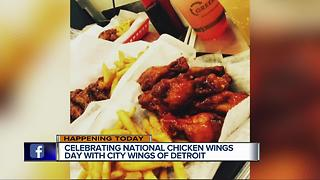National Chicken Wing Day - Video