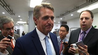 Sen. Jeff Flake Says Republicans 'Might Not Deserve To Lead' - Video