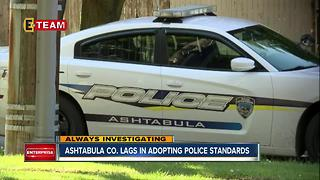 Ashtabula Co. lags behind in adopting statewide police standards - Video
