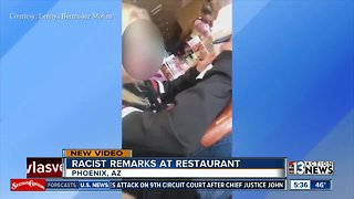 Racist remarks at Phoenix restaurant