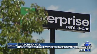 Littleton woman says she got billed for hail damage to rental car... when it never hailed