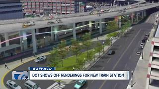 Renderings for new Buffalo train station - Video