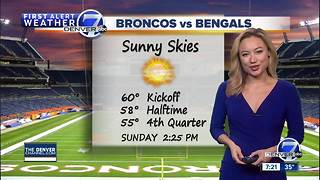 Quiet weather next few days- Great football weather! - Video