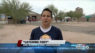 Catching Fury, teaching girls about the public safety field