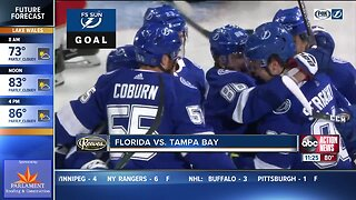 Nikita Kucherov's goal, assist help Tampa Bay Lightning beat Florida Panthers 5-2