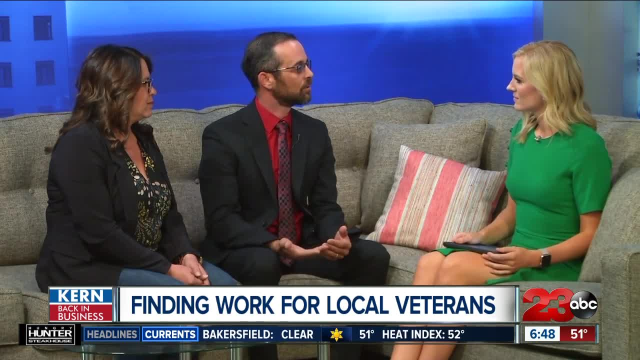 Finding work for local veterans