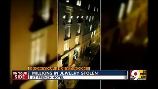 Millions in jewelry stolen - Video