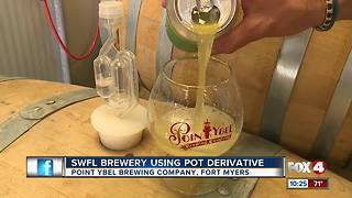 Marijuana-infused beer featured at Southwest Florida brewery - Video