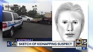 Police release sketch of kidnapping suspect in Scottsdale