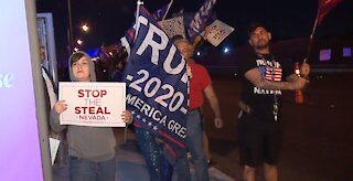 Protests go into third night, ballot counts continue in NV