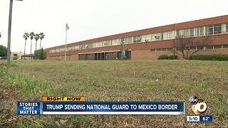 Trump plans to send National Guard to border - Video