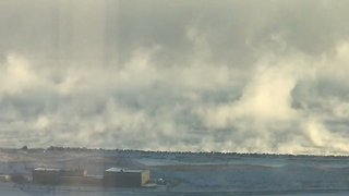 'Wall of Ice Steam' Rises From Lake Michigan as Polar Vortex Hits Chicago - Video