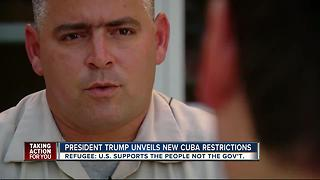 Refugee praises Trump's tough stance against oppressive Cuban regime