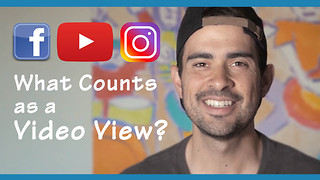 What counts as a video view on social media? - Video