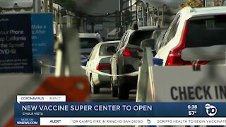 New vaccine 'super station' to open in South Bay