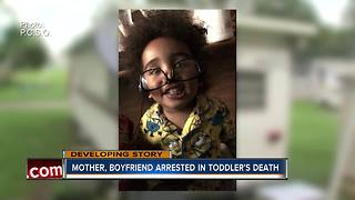 Davenport couple arrested in death of woman's 2-year-old son - Video