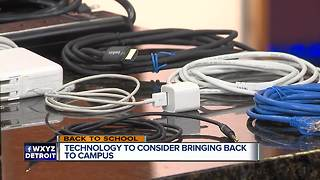Back To Campus Technology - Video