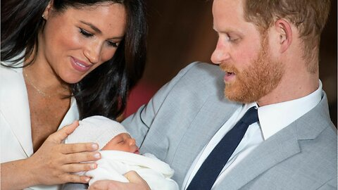 Meghan Markle Gives Birth to a Baby Boy