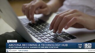 Arizona becoming a technology hub