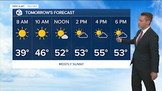 FORECAST: Thursday morning