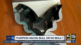 Pumpkin-carving hacks...do they work?