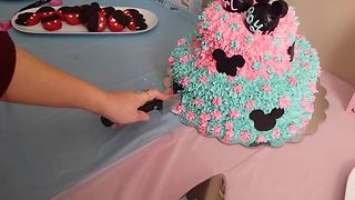 Gender Reveal Party Leaves Parents-To-Be In Tears Of Joy - Video