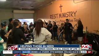 Organization in Southwest Bakersfield hosts a special Taco Tuesday - Video